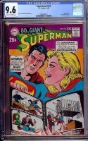 Superman #212 CGC 9.6 ow/w
