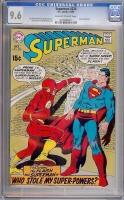 Superman #220 CGC 9.6 ow/w