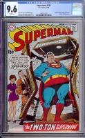 Superman #221 CGC 9.6 w
