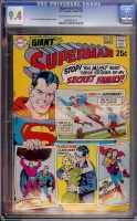 Superman #222 CGC 9.4 ow/w