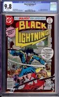 Black Lightning #1 CGC 9.8 w