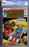 Action Comics #387 CGC 9.6 ow/w