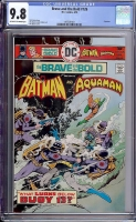 Brave and the Bold #126 CGC 9.8 ow/w