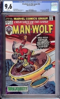 Creatures On The Loose #35 CGC 9.6 w