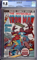 Iron Man #89 CGC 9.8 ow/w