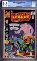 Justice League of America #94 CGC 9.6 ow/w