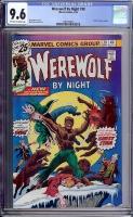 Werewolf By Night #38 CGC 9.6 ow/w
