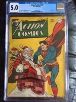 Action Comics #105 CGC 5.0 ow