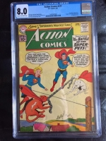 Action Comics #277 CGC 8.0 cr/ow