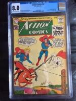 Action Comics #277 CGC 8.0 cr/ow