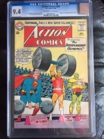 Action Comics #304 CGC 9.4 ow/w