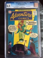 Adventure Comics #256 CGC 6.5 cr/ow