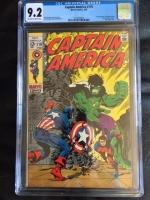 Captain America #110 CGC 9.2 ow/w