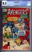 Avengers #83 CGC 8.5 ow/w