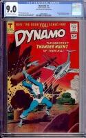 Dynamo #1 CGC 9.0 ow/w