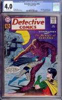Detective Comics #298 CGC 4.0 ow