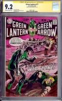 Green Lantern #77 CGC 9.2 ow/w CGC Signature SERIES