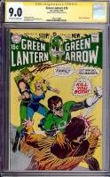 Green Lantern #78 CGC 9.0 ow/w CGC Signature SERIES