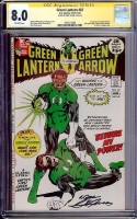 Green Lantern #87 CGC 8.0 ow CGC Signature SERIES