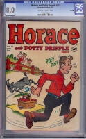 Horace and Dotty Dripple #25 CGC 8.0 cr/ow File Copy