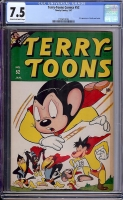 Terry-Toons Comics #52 CGC 7.5 cr/ow