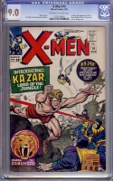 X-Men #10 CGC 9.0 ow/w