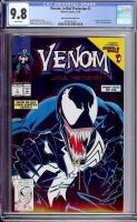 Venom: Lethal Protector #1 CGC 9.8 w Black Cover/Printing Error