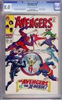 Avengers #53 CGC 8.0 ow/w