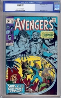 Avengers #73 CGC 9.0 ow/w Western Penn