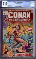 Conan The Barbarian #1 CGC 7.0 ow/w