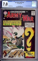 Our Army at War #151 CGC 7.0 cr/ow