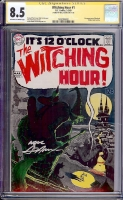 Witching Hour #1 CGC 8.5 ow/w CGC Signature SERIES