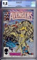Avengers #257 CGC 9.8 w
