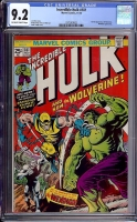 Incredible Hulk #181 CGC 9.2 ow/w