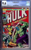Incredible Hulk #181 CGC 9.6 ow/w