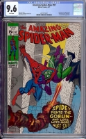 Amazing Spider-Man #97 CGC 9.6 w