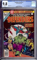 Defenders Annual #1 CGC 9.8 w