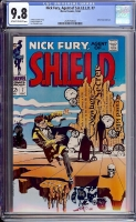 Nick Fury, Agent of SHIELD #7 CGC 9.8 ow/w