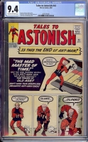 Tales to Astonish #43 CGC 9.4 cr/ow