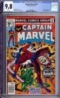 Captain Marvel #49 CGC 9.8 w