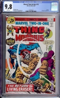 Marvel Two-In-One #15 CGC 9.8 w