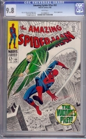 Amazing Spider-Man #64 CGC 9.8 w