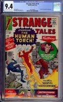 Strange Tales #118 CGC 9.4 ow/w