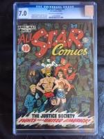 All Star Comics #16 CGC 7.0 ow/w