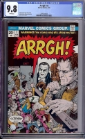 Arrgh! #2 CGC 9.8 w Davie Collection