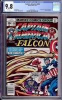 Captain America #209 CGC 9.8 w Davie Collection