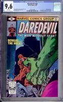Daredevil #163 CGC 9.6 w Davie Collection