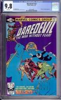 Daredevil #172 CGC 9.8 w Davie Collection