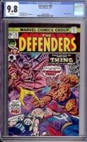 Defenders #20 CGC 9.8 w Davie Collection