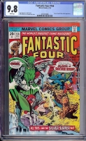 Fantastic Four #156 CGC 9.8 w Davie Collection